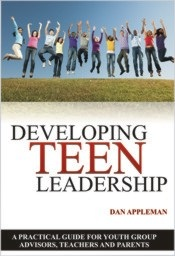 """Cover for """"Developing Teen Leadership"""""""